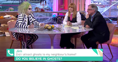 Did I attract ghosts to my neighbours home?