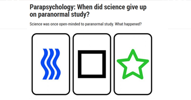 Parapsychology: When did science give up on paranormal study?
