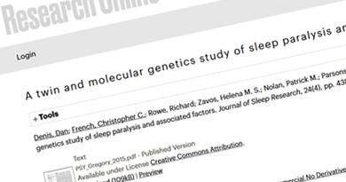 A twin and molecular genetics study of sleep paralysis