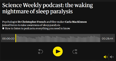 The Waking Nightmare of Sleep Paralysis