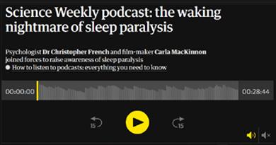 The Waking Nightmare of Sleep Paralysis