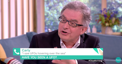 """I saw UFOs"": This Morning"